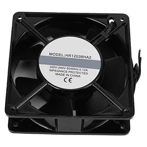Ventilador de refrigeración, AC220V ‑ 240V Ventilador de refrigeración de chasis, 7 palas Equipo electrónico doméstico para chasis industrial Equipo mecánico
