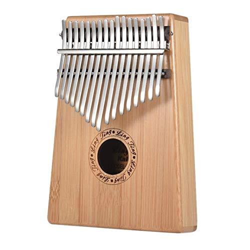NSH Daumen Klavier Kalimba 17-Ton-Finger Klavier Kalimba Anfänger tragbares Musikinstrument einfaches Design exquisite Verarbeitung