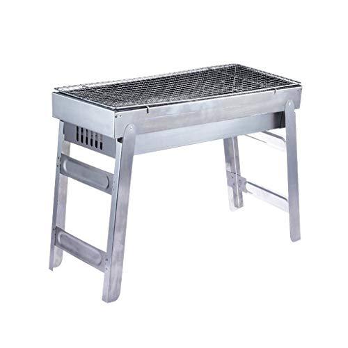 Accessoires de Barbecue en Plein air, Barbecue Durable en Acier Inoxydable Facile à Nettoyer...