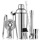 Cocktail Shaker Set, Martini Shaker, Premium Drink Shaker, Bartender Kit, Professional Stainless Steel Bar Tool Set, Margarita Drink Mixer