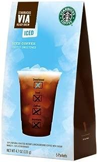 Starbucks VIA Iced Coffee by Starbucks Coffee - Sold As 10 Single Units