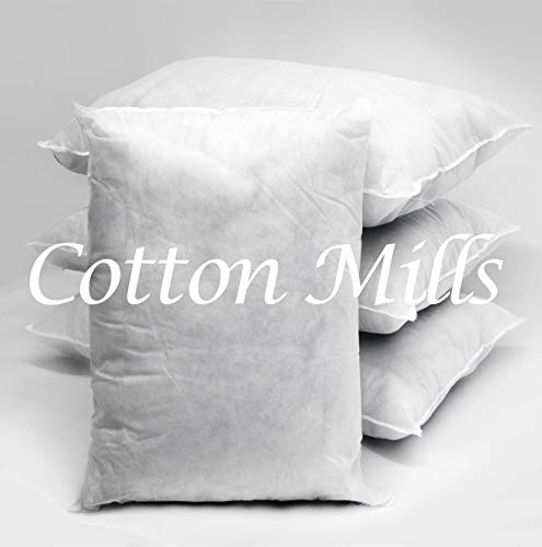 Cotton Mills PACK OF 2 Hollowfibre Filled Cushion Pad Insert/Filler (Square 26' x 26')
