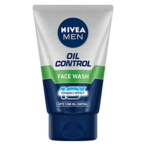 Nivea Men Oil Control Face Wash (10X whitening),50 Grams