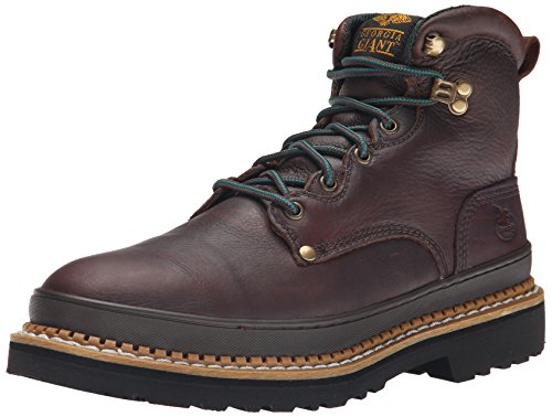 Georgia Boot Men's Georgia Giant G6374 Work Boot,Brown,11 M