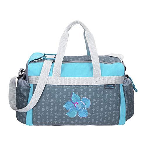 Flower - Blumen - McNeill Schulsporttasche Sporttasche Schwimmtasche mit NASSFACH Freizeittasche Kindertasche