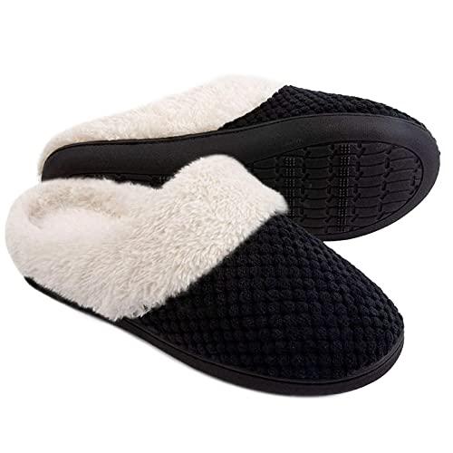 ULTRAIDEAS Women's Comfort Coral Fleece Memory Foam...
