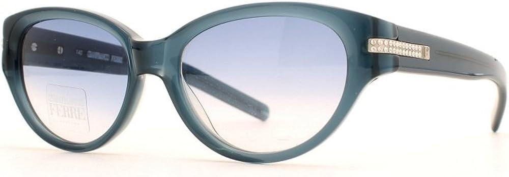 Gianfranco ferrè occhiuali da sole per donna black square certified vintage 592