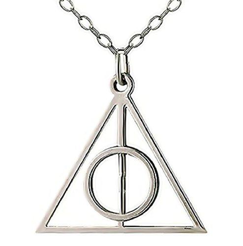 Collar de Harry - Reliquias de la Muerte - Triángulo - Círculo - Deathly Hallow