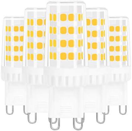 G9 LED Bulbs AMAZING POWER 5W LED G9 50W Equivalent Bi Pin G9 Halogen Bulbs for Chandelier Lighting product image