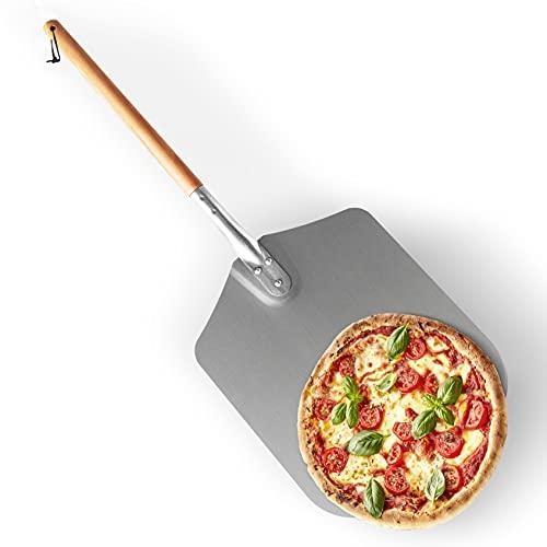 Gadgy Pala Pizza Horno Y Barbacoa   Al Exterior O Al Interior   Metal Y Madera   79 cm x 30,5 cm