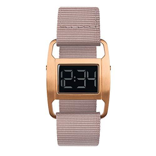 VOID Reloj PXR5 - Caja de cobre cepillado/correa de nailon rosa polvoriento | PXR5-CO/DP