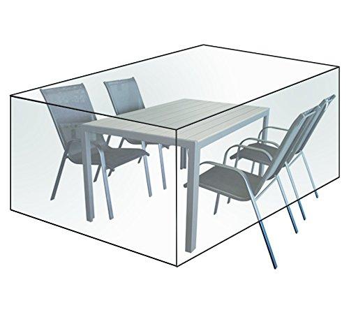 WOLTU GZ1161tp Housse de Protection pour mobilier de Jardin Couverture Meubles 70x200x160cm Transparent