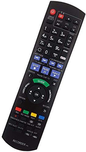 Ersatz Fernbedienung passend für Panasonic DMR-BST820   DMR-BST820EG   DMR-BST735   DMR-BST735EG