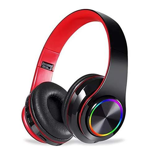 Docooler B39 RGB Luminous Wireless BT 5.0 Gaming Headset Auriculares estéreo Auriculares...