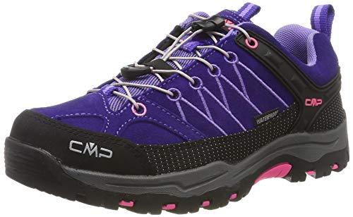 CMP Unisex-Kinder Kids Rigel Low Shoes Wp Trekking-& Wanderhalbschuhe, Violett (Lapis-Iris 04hd), 34 EU