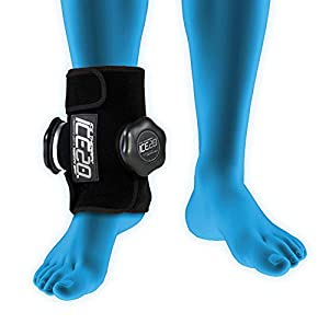 ICE20 Unisex ICE20 Ankle Ice Therapy Wrap, Double Ice Bag ICE-Dbl-Ankle, Black, Double from Triad Sports Group LLC (Bow Nets)