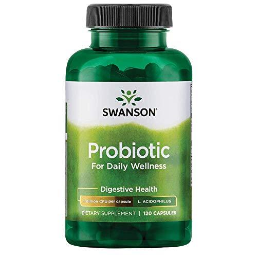 Swanson Probiotic for Daily Wellness 2 Billion Cfu 120 Capsules