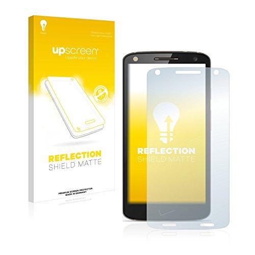 upscreen Entspiegelungs-Schutzfolie kompatibel mit Motorola Droid Turbo 2 – Anti-Reflex Bildschirmschutz-Folie Matt