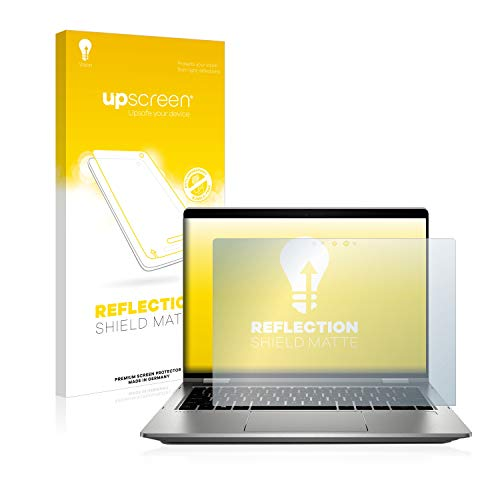 upscreen Entspiegelungs-Schutzfolie kompatibel mit HP ProBook x360 435 G7 – Anti-Reflex Bildschirmschutz-Folie Matt