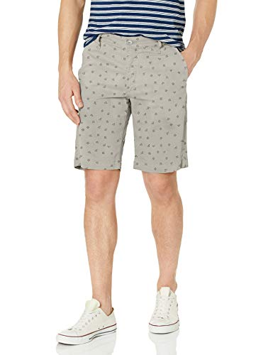 AG Adriano Goldschmied Men's The Griffin Tailored Short, Vaquero Florence Fog, 38W