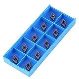 10 piezas de insertos de puntas CNC de carburo cementado insertos de cuchilla de pala para...