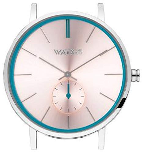 Watx&Colors Granite Damen Uhr analog Quarzwerk mit Leder Armband WXCA1010