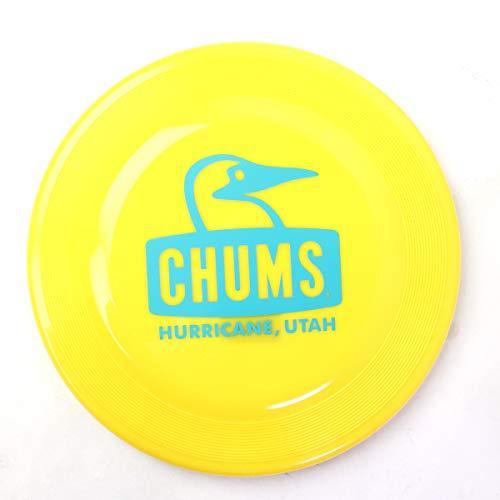 チャムス フリスビー CHUMS フライングディスク ブービー ロゴ CH62-1487 (イエロー, ワンサイズ)