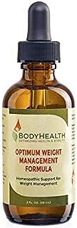 فرمول مدیریت وزن با وزن بدن Optimal WeightHealth (عرضه 60 روزه) وزن طبیعی کاهش وزن قطره مایع، برای متعادل سازی هورمون های متابولیک، با برنامه رژیم غذایی طراحی شده با مواد پزشکی، مواد تشکیل دهنده با کیفیت
