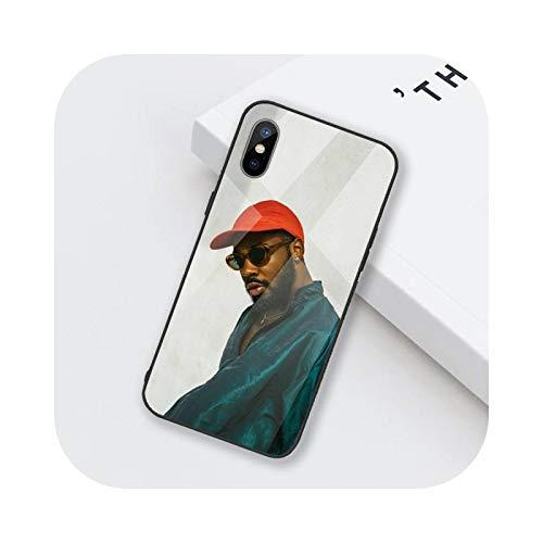 Funda de teléfono de vidrio templado para iPhone 6 6S 7 8 plus X XS XR 11 12 mini PRO MAX-a6-iPhoneXSMAX