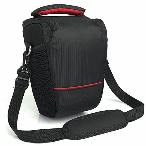 Ygerbkct Funda para cámara DSLR para Canon EOS 4000D M50 M6 200D 1300D 1200D 1500D 77D 800D, Bolsa de Hombro, Mochila Acolchada Suave