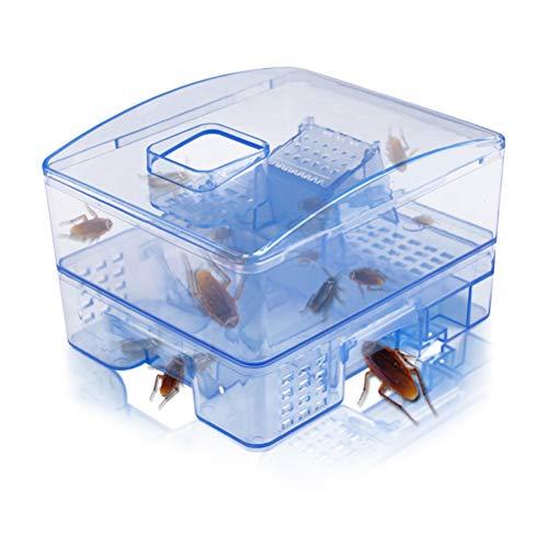 Gutyan Schabenfalle Heimchenfalle Ungiftige Wiederverwendbare Kakerlaken Fallenkiste Effektiver Käfer Plötzenfänger Hauskakerlaken Mörder Köderfallen (A)