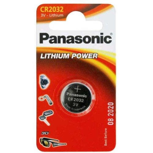 PANASONIC CR2032 BLISTER DE 2 AU LITHIUM 3V