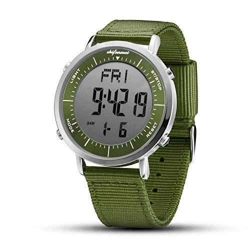 shifenmei Relojes Digitales, Reloj Deportivo Digital Unisex para Hombres, Mujeres, niños