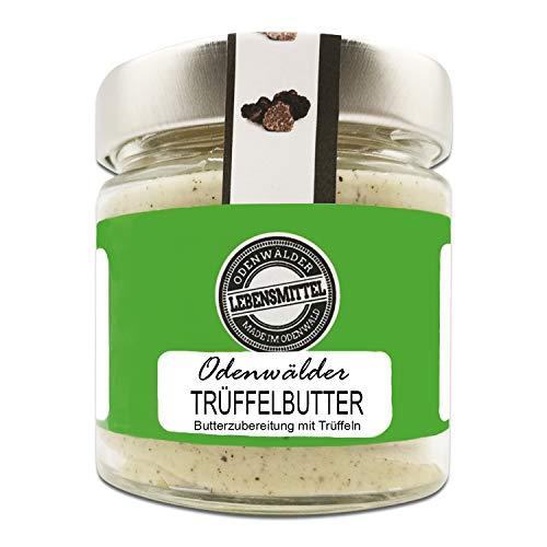 Odenwälder Lebensmittel - 150g premium Trüffelbutter mit echten Trüffeln - hochwertige Butter - Made in Germany