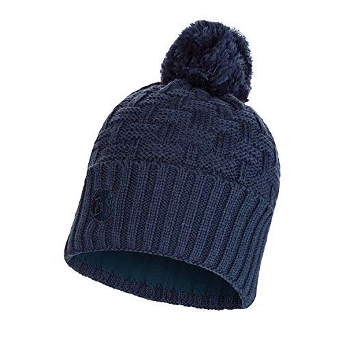 Buff Knitted und Polar Airon Mütze, Dark Denim, One Size