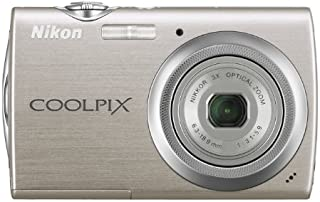 Nikon Coolpix S230 10MP Digital Camera with 3x Optical Zoom and 3 inch Touch Panel LCD (Warm Silver)