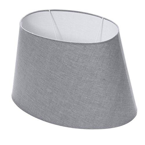 Lumissima 91859 Paralume, forma ovale grigio