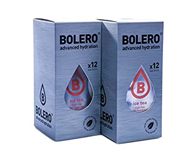 Bolero Eistee Pfirsich 24er Pack + Increase Shaker 600 ml