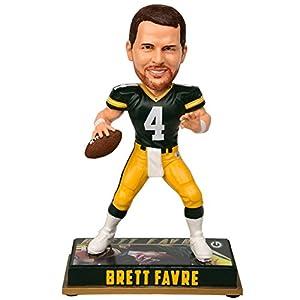 "Green Bay Packers Favre B. #4 8"" Retired Player Bobble"