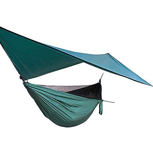 WENCY multifunctionele hangstoel, licht en draagbaar, kan regen, muggen en ultraviolette stralen blokkeren, met opbergtas en accessoires