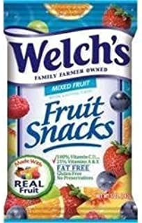 Welch's Mixed Fruit Fun Size Fruit Snacks 22 Pouches (.5 oz each)
