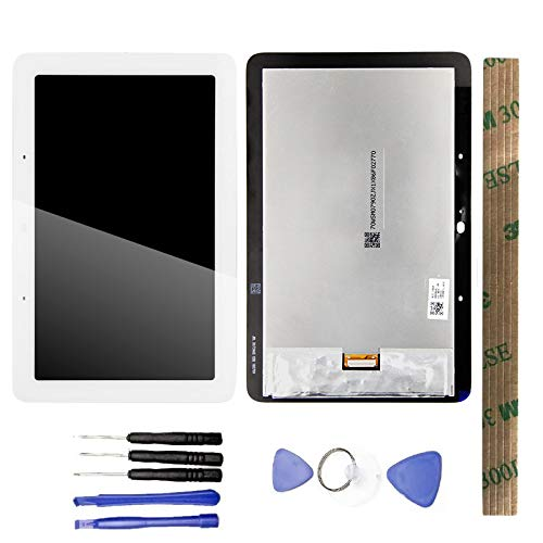 JayTong LCD Display & Replacement Touch Screen Digitizer Assembly with Free Tools for Google Home Nest Hub White