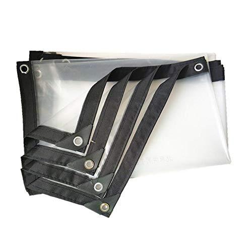 MMADD Klare PlaneDicke kunststoffplatte transparente kunststoffplane regenschutztuch Dicke gepolsterte Plane regenschutzplane,2mX6m
