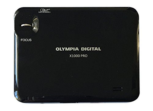 Olympia Digital Mobile Projector X1000 PRO