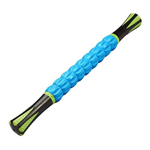 REEHUT Roller de Massage 18 Pouces Tissulaire Profond Thérapeutique, Soulage Les Muscles Douloureux, Prévient Les Blessures, Améliore la Mobilité et la Circulation, Bleu
