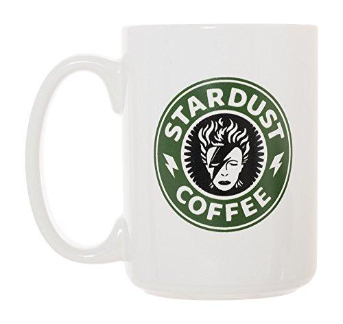 Stardust Kaffeetasse, 425 ml, Deluxe, groß, doppelseitig, David Bowie inspiriert
