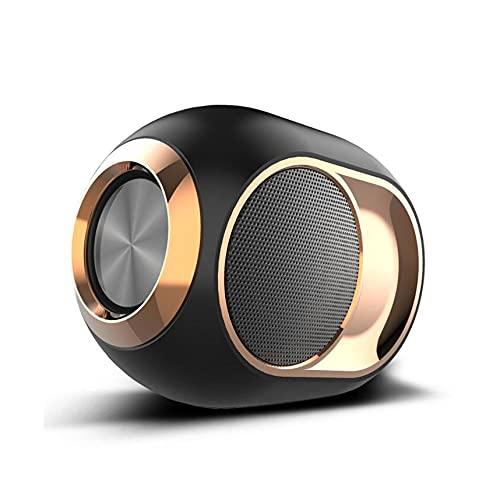 XIXIDIAN Altavoz Bluetooth inalámbrico, Altavoz portátil de la Fiesta de la casa, 5-8H Playime, 360 ° Sonido Envolvente Completo