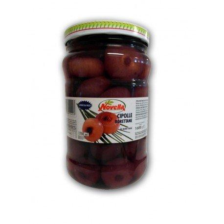 Novella - Cipolle Borettane In Aceto Di Vino Rosso - G1600