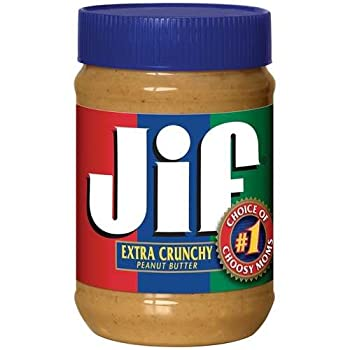 Jif Peanut Butter Extra Crunchy 40 oz  Pack of 6