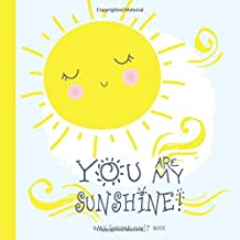 Baby Shower Guest Book You Are My Sunshine: Sign In Guestbook with Wishes & Advice for Parents + Gift Log | Cute Yellow Sun Gray White Clouds